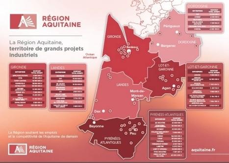 L'Aquitaine crée plus d'emplois industriels que les autres régions | industrie Bordeaux Gironde | Scoop.it