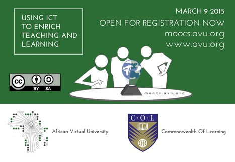 MOOC: Using ICTs to enrich teaching and learning   Learning, Learning Technologies & Infographics - Interest Piques   Scoop.it