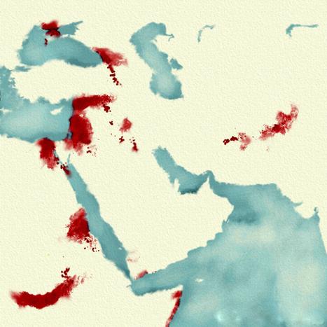 La carte, outil de (dé)légitimation de l'intervention occidentale en Syrie (Orient XXI) | Géographie des conflits | Scoop.it