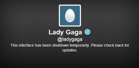 La disparition de Twitter de Lady Gaga intrigue ses fans - Le Huffington Post   planète média sociaux   Scoop.it