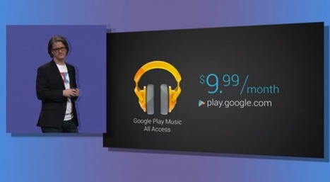 New Google Play Music All Access subscription service at $9.99/mo with 30 day trial available in US today | Radio 2.0 (En & Fr) | Scoop.it