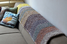 Garter Squish pattern by Stephen West | Knit-of-the-Month Club | Scoop.it