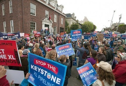1,000+ Californians Protest Keystone XL at President Obama's Fundraiser in San Francisco | EcoWatch | Scoop.it
