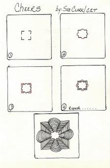 Tangled Ink Art: Cheers   Artistic Line Designs-all free   Scoop.it