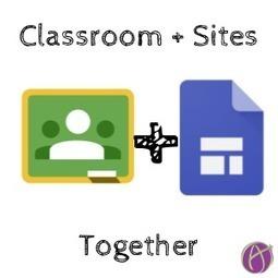 New Google Sites + Google Classroom - Teacher Tech | Keeping up with Ed Tech | Scoop.it