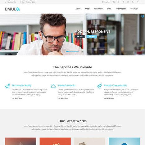 Emulate WordPress Theme | WordPress Theme Download | Best WordPress Themes 2013 | Scoop.it