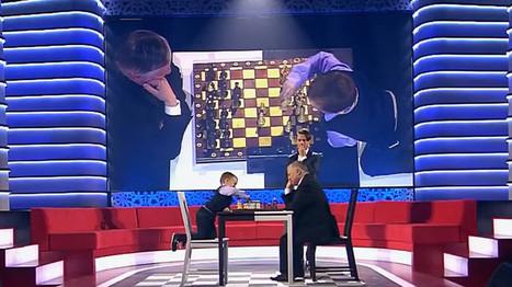 La conmovedora reacción de un niño de 3 años tras perder al ajedrez contra el excampeón Kárpov - RT   El Blog.Valentín.Rodríguez   Scoop.it