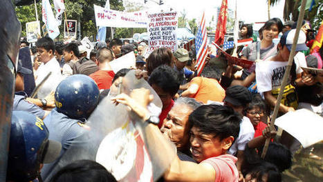 Anti-U.S. protest violence ahead of Obama visit highlights concern over military pact in Philippines | Global politics | Scoop.it