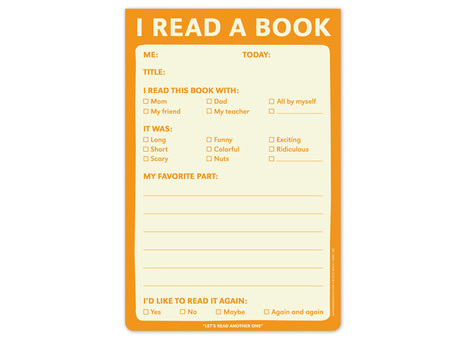 I Read a Book Pad | Random cool stuff about libraries | Scoop.it
