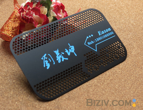 Metal Business Cards   Making Your Business Unforgettable With Metal Business Card   Metal Business Card   Scoop.it