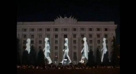 Impressive Lighting Display in Ukraine   SocialMediaDesign   Scoop.it