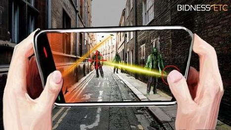 Top 5 Augmented Reality Mobile Games | Data - Techno - Surveillance | Scoop.it