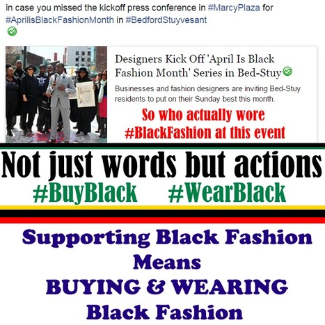 did @bedstuygateway wear #blackfashion at #‎AprilisBlackFashionMonth‬ | Black Fashion Designers | Scoop.it
