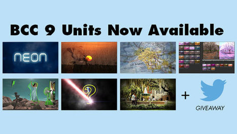 Boris Continuum 9 Units Updates + $199 Freebie | Video-Plugins | Scoop.it