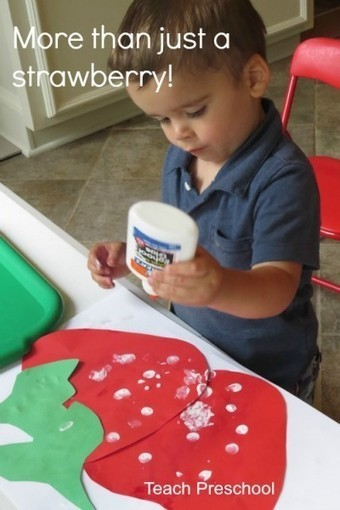 More than just a strawberry | Preschool Spanish | Scoop.it