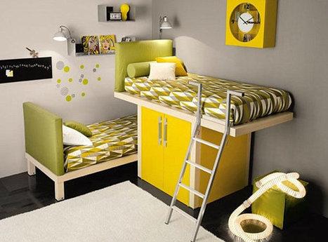 Kid Spaces: 20 Shared Bedroom Ideas   Designing Interiors   Scoop.it