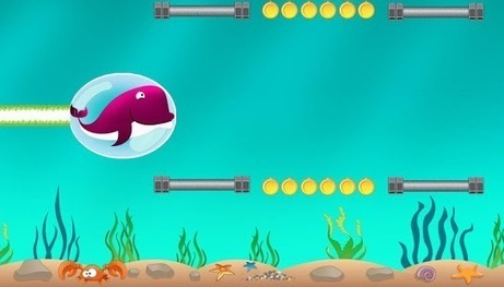 Dolphin Water Bubbles - Android Apps on Google Play | Android Games By Bright Geeks | Scoop.it
