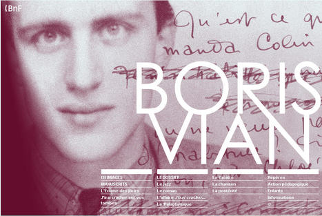 Boris Vian:  Dossiers pédagogiques et Ressources audiovisuelles | Languages in the UK | Scoop.it