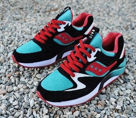Saucony Grid 9000 Bait vert viridian – chaussure — Sneakers-actus | sneakers-addicted | Scoop.it