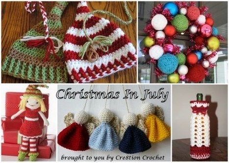 Christmas in July Free Crochet Pattern Round Up | Crafts | Scoop.it
