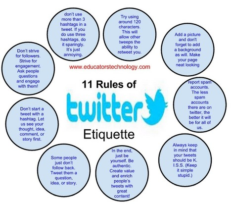 10 Ways Teachers Can Make The Best of Twitter ~ Educational Technology and Mobile Learning | Best Twitter Tips | Scoop.it