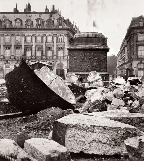 La Commune de Paris, 1871 by RaspouTeam » Destruction de la colonne Vendôme | GenealoNet | Scoop.it