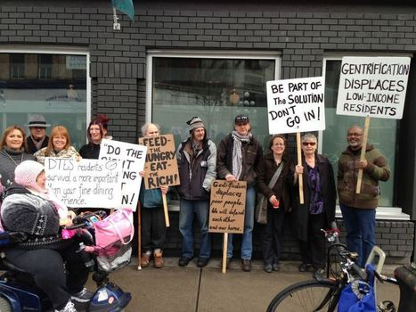 Eat the rich: picketers promise to shut down Pidgin | Downtown Eastside Vancouver | Scoop.it