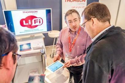 Thomson a démontré les vertus du LiFi sur IT Partners | Accessoires, Composants, Objets Connectés, Domotique, Périphériques et Multimédia | Scoop.it