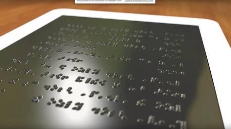 Ebooks : une liseuse en braille révolutionnaire bientôt disponible pour les malvoyants | Bibliothèque et Techno | Scoop.it