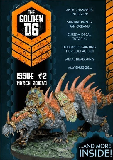 The Golden D6 Issue 2 - The Golden D6 | Tabletop Wargames | Scoop.it