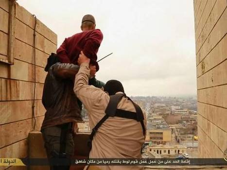 Isis throws gay men off tower in wave of 'retaliatory' public executions | STOP Anti-Gay World-Wide Activity - Human Right's Are for All | Scoop.it