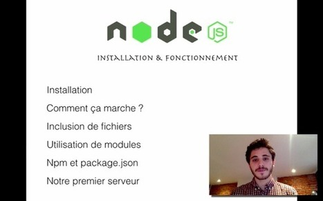 [VIDEO] Node.js - Installation et Fonctionnement | Apprendre Node JS | Scoop.it