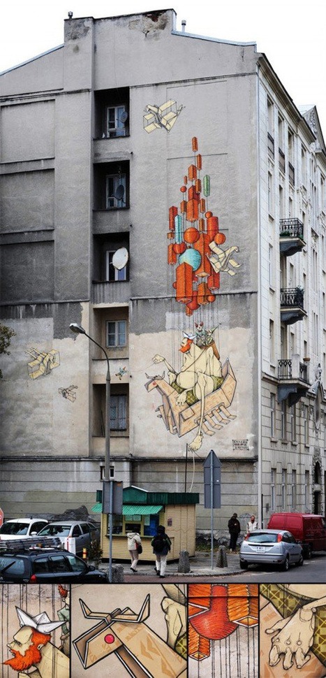 Adictivox – Digitalizando ideas » Arte callejero en Polonia | VIM | Scoop.it