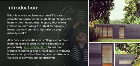 Perfecting your school's creative learning space - Innovate My School | 21st C Learning | Scoop.it