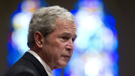 George W. Bush: 'I'm Comfortable With What I Did' : NPR | The World Planet | Scoop.it