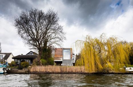 ben adams architects elevates chiquet flood house in weybridge - designboom | architecture & design magazine | Architecture and interiors i love | Scoop.it