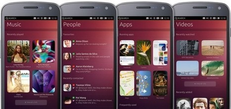 Canonical annonce son Ubuntu Phone - FrAndroid | Commerce digital | Scoop.it