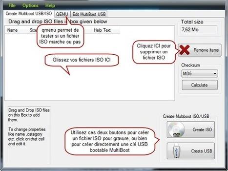 Comment créer une clé USB Multiboot de plusieurs systèmes ? | Au fil du Web | Scoop.it