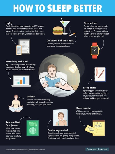 9 things to do before bed that will jump-start tomorrow | Revieratoy | Scoop.it