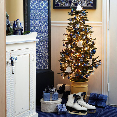 2012 Christmas Decorating Ideas for Small Spaces   Modern ...   Christmas at home   Scoop.it