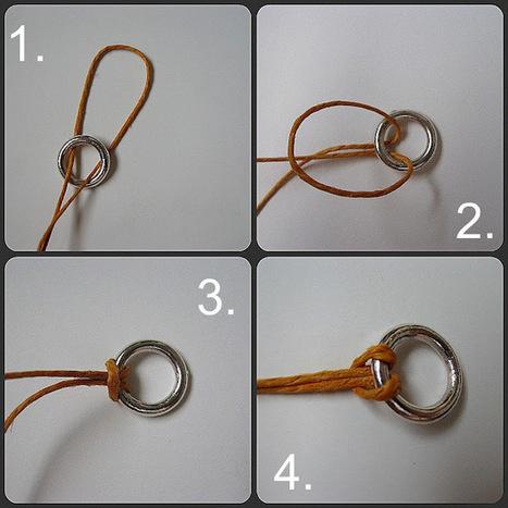Show Tell Share: Leather Cord Macrame Bracelet | DIY - jewellery  =  HTM - bijou | Scoop.it