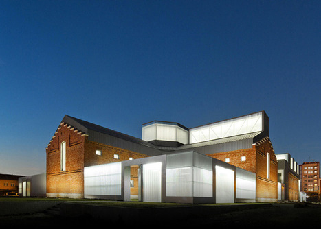 Civic Centre in Palencia by Exit Architects | sustainable architecture | Scoop.it