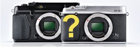 X-E1 or X-PRO1: that is the question! | Fuji Rumors | Fuji X-Life | Scoop.it