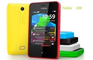 Nokia 208 Model Mobile Phone - Mobiles Phones | Mobiles Phoones | Scoop.it
