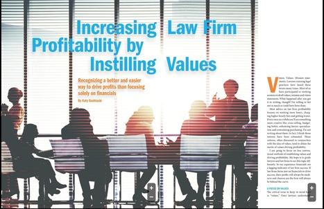Law Firms: Profitability through Values | Legal Biz Dev | Scoop.it