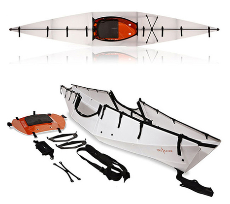 Featured: Collapsible Kayak Folds Down Into Portable Briefcase [Future Of Home Living] | Swiss Startup Founders | Scoop.it