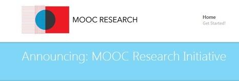 """Annonce : """"MOOC Research Initiative""""   Sciences du numérique et e-education   Scoop.it"""