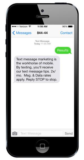 Text Message Marketing Tips from 84444 | Social Media Marketing | Scoop.it