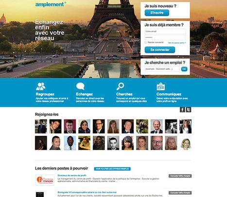 Amplement : un réseau social dédié aux professionnels | Social Media | Scoop.it