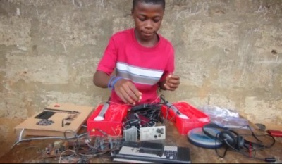 13-year-old genius from Sierra Leone builds generators out of scrap, makes you feel dumb | Creative Potential Institute | Scoop.it